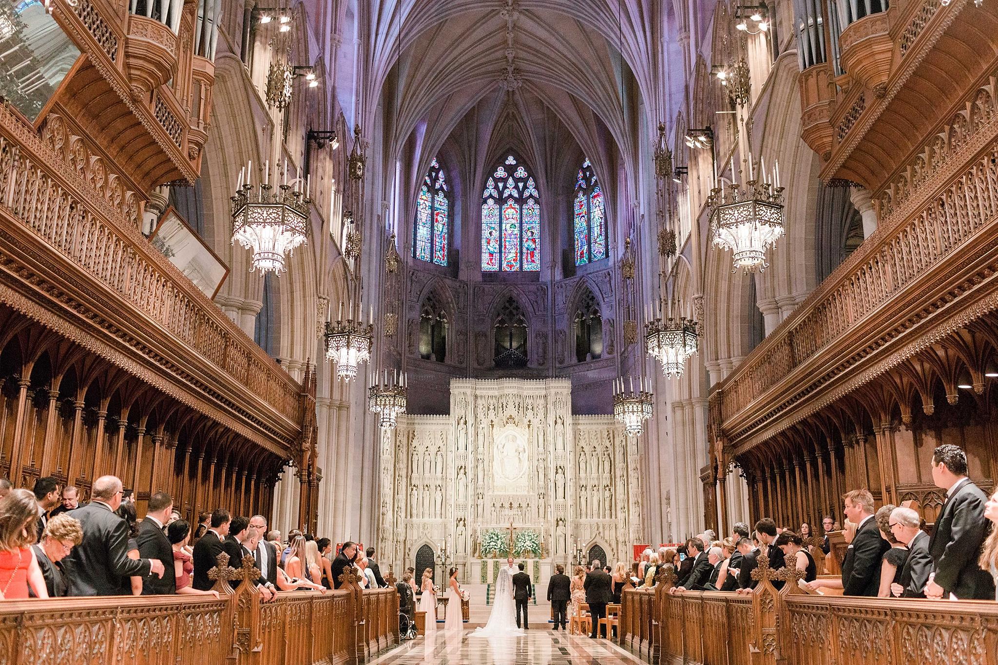 Washington National Cathedral Wedding