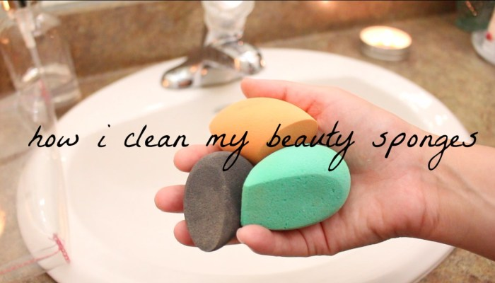 How I Clean My Beauty Sponges