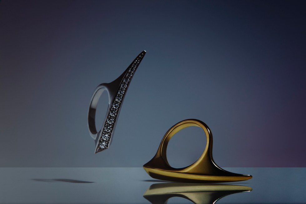 Shaun Leane Fine Jewellery Sabre Crossover Rings