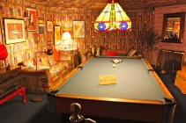Graceland Billard Room