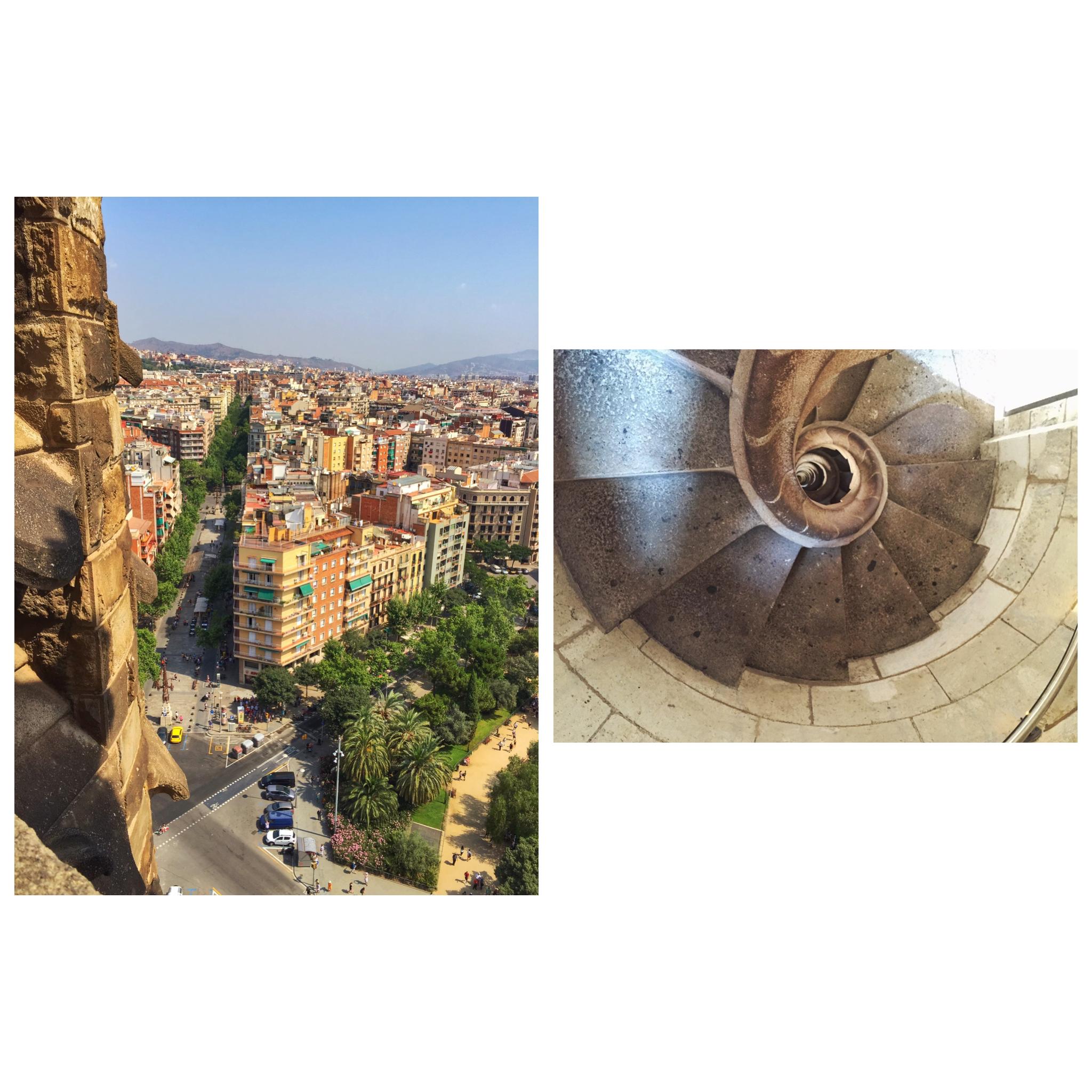 La Sagrada Familia Cathedral Barcelona Spain Alicia