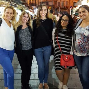 Night out to Jerusalem with Nicole and the English teachers at my school