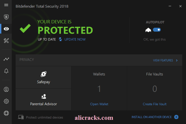Bitdefender Total Security 2018 Crack and Serial Key Download