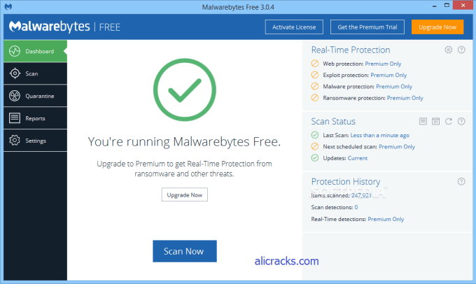 Malwarebytes Premium 3.4.4.2398 Crack Lifetime License Key