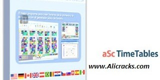 aSc TimeTables 2019 Crack With Serial Key Download