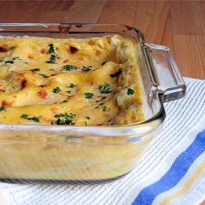 lasagna quattro formaggio from America's Test Kitchen