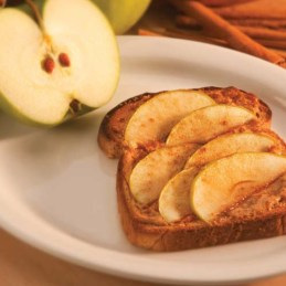 Peanut+Butter+Apple+Toastie