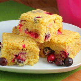 cranberry cornbread from Alida's Kitchen
