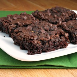 Chocolate Zucchini Brownies from alidaskitchen.com