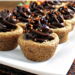 Pudding-Filled Cookie Cups from Alida's Kitchen