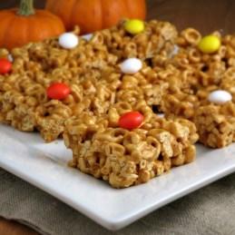 Pumpkin Pie Alpha-Bits Treats | alidaskitchen.com