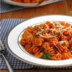 Roasted Red Pepper Pasta #WeekdaySupper