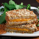 Pretzel Crusted Grilled Cheese