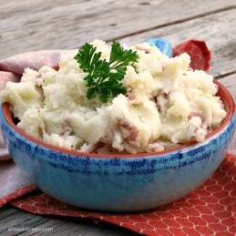 Olive Oil Mashed Potatoes - Alida's Kitchen