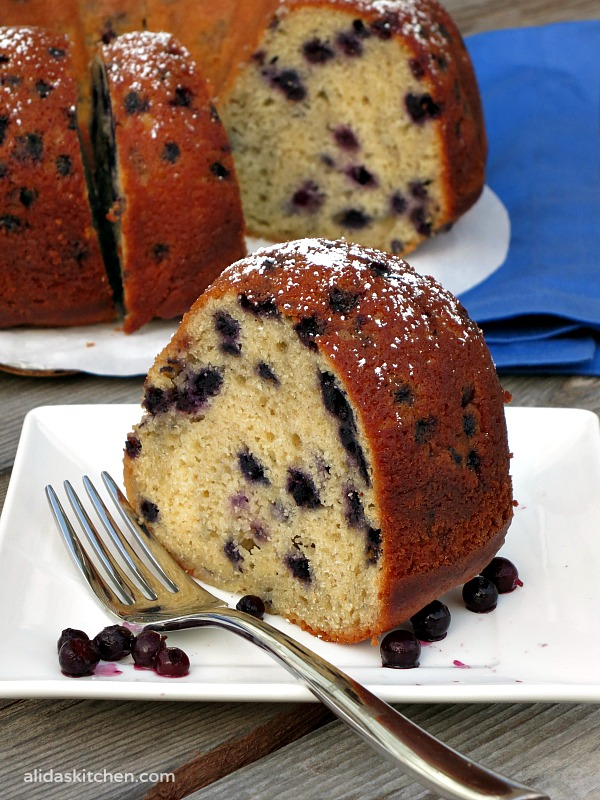 Blueberry Buttermilk Bundt Cake My Site