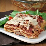 Mom's Lasagna #SundaySupper