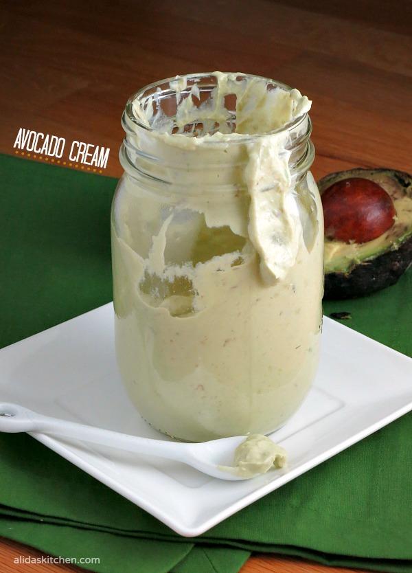 Avocado Cream | alidaskitchen.com
