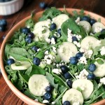 Balsamic Blueberry Salad #SundaySupper