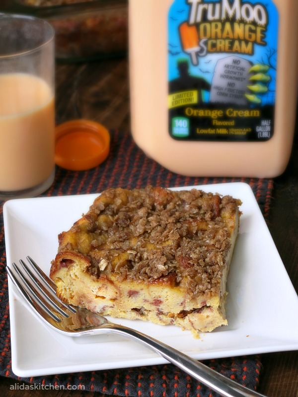 Orange Scream Baked French Toast | alidaskitchen.com