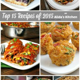 Top 15 Recipes on Alida's Kitchen | alidaskitchen.com