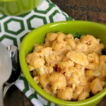 Stove Top Cauliflower Mac and Cheese
