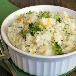 Broccoli Cheddar Mashed Potatoes