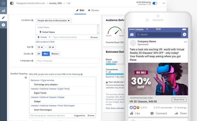 AliDropship Dropshipping Services- FB Ads