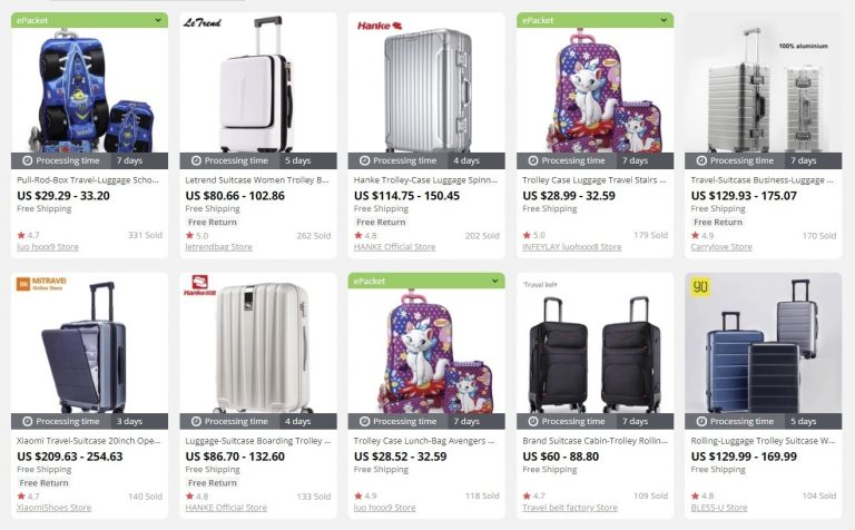 Luggage suitcase to sell