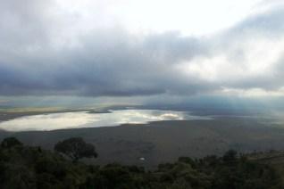 The Ngorogoro Crater Lake at Dawn, Tanzania