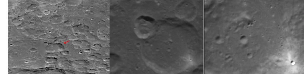 Close Alien Moon Base