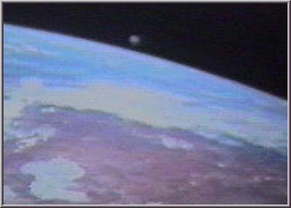 NASA UFO in Space