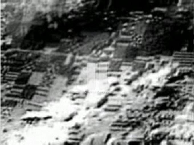 Alien Moon Base Ruins