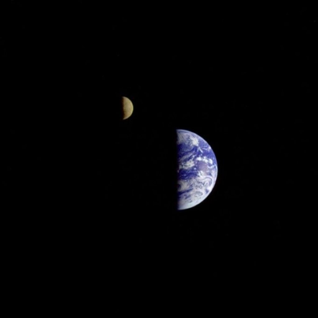 10 Views of Earth from the Moon, Mars and Beyond