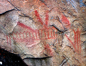 Pictographs-Mazinaw Rock