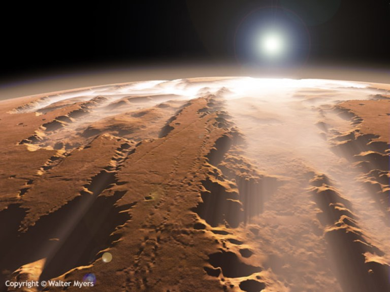 Would you move here? (Picture: ESA)