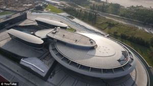 Chinese tycoon spends £100m to make company HQ look like the STAR TREK ship 1