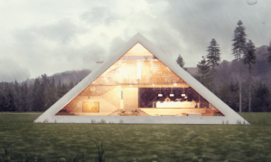 Pyramid Shaped House Makes You Feel Like An Ancient Egyptian Emperor 2