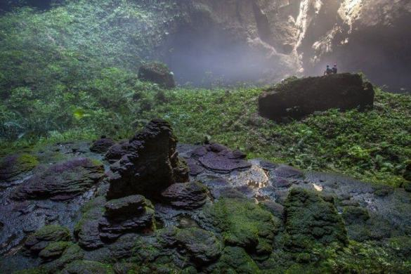 Son Doong cave is World's largest cave, discovered in 2009 12