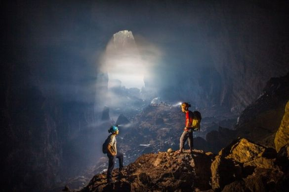 Son Doong cave is World's largest cave, discovered in 2009 2
