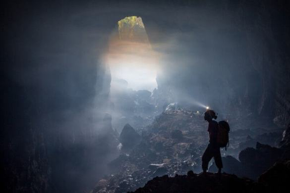 Son Doong cave is World's largest cave, discovered in 2009 6
