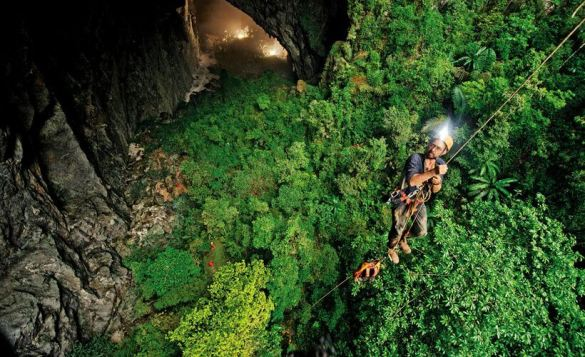Son Doong cave is World's largest cave, discovered in 2009 20