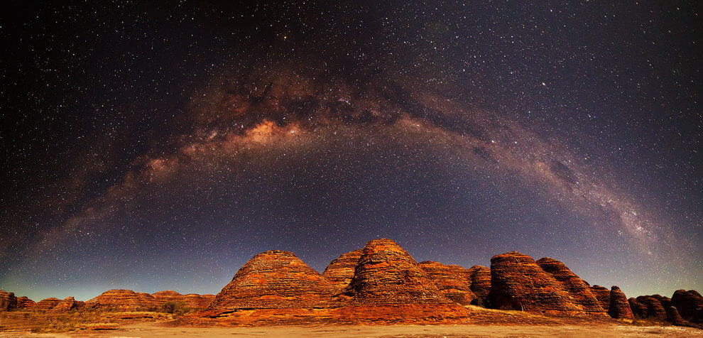 Still not convinced?! How about the Milky Way over the Bungle Bungles, WA