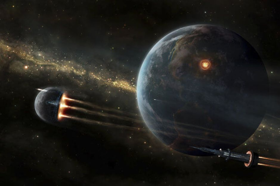Probes fight while earth burns