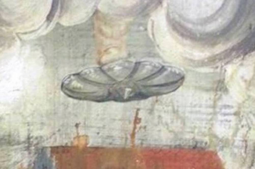 romanian-ufo-painting-in-monastery