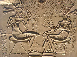 Akhenaten and family copywright Gerbil