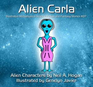 Alien Carla - Cover Page