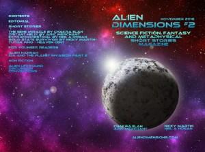 Alien Dimensions Issue 2 November 2016 full cover