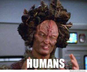 Humans Star Trek Voyager