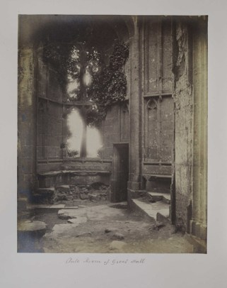 'Ante Room of Great Hall', Frederick Scott Archer, The Royal Photographic Society Collection at the National Media Museum
