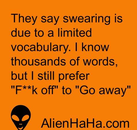Funny Quotes 79 by Alien Ha Ha